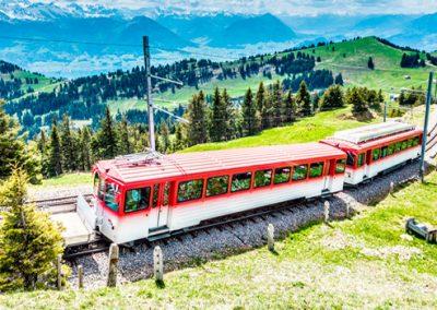 Bergbahn in der Schweiz
